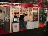 Highland Rider stand at the NEC (link to picture in Gallery)